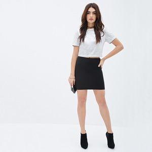 💥 NWOT Forever 21 Ribbed Mini Skirt